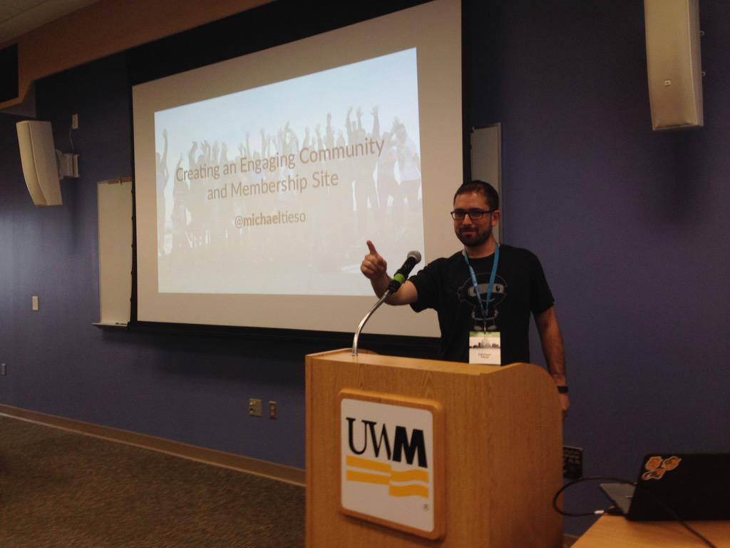 WordCamp Milwaukee: Creating an Engaging Community and MembershipSite